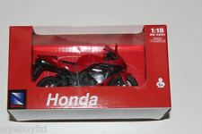 Newray Honda CBR 600RR red diecast & plastic motorcycle model bike scale 1:18
