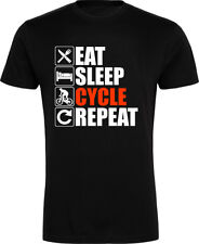 Unbranded Cycling Crew Neck T-Shirts for Men