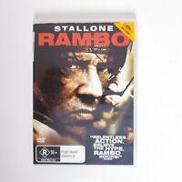 Rambo Movie DVD Region 4 AUS Free Postage - Action Sylvester Stallone