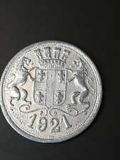 1921 20 centimes French railway 'Bois du Boulogne'  token