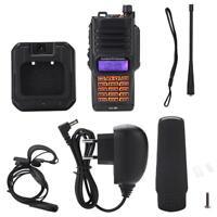 UV-9R VHF UHF Walkie Talkie FM Radio Ricetrasmettitore per Baofeng Dual Band