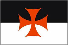 Aufkleber Templer Flagge Fahne 30 x 20 cm Autoaufkleber Sticker