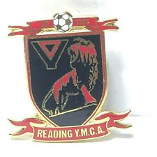 Reading Ymca Fc Enamel Badge Non League Football Clubs