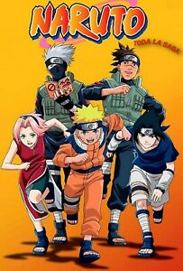 Naruto Shippuden Anime Manga Toda La Mega Coleccion (770 Capitulos) DVD ESPAÑOL