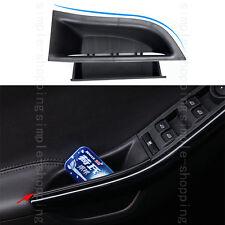 2pcs/set Chrome Black Interior Door Armrest Storage Box For Ford Focus 12-17