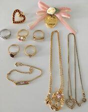Vintage AVON Costume Jewelry:  Rings, Pins, Necklaces, Bracelet - 10 Pcs.
