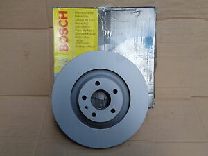 NEW GENUINE BOSCH 0986479260 FRONT VENTED BRAKE DISC AUDI A6 ALLROAD BD1138