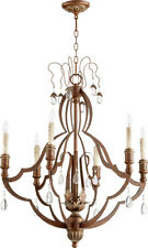 Quorum International 644-6-39 Venice Chandeliers Vintage Copper