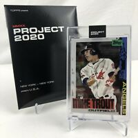 Topps Project 2020 Card 85 Mike Trout 2011 Jacob Rochester Angels # 85 IN HAND