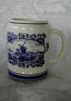 Genuine DELFT BLUE Hand Painted Mug - Made in Holland