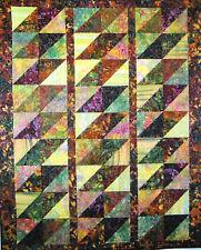 Batik Diamonds quilt Pattern by Quilt Woman