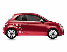 Stickers Adesivi FIORI BOLLE tuning auto e moto accessori cinquecento smart mini
