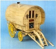 Bow Top Caravan Matchstick Construction model Kit Matchcraft-  NEW