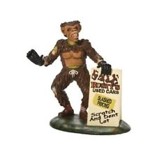 RUSTY SCARES UP A DEAL Dept 56 Halloween Village Figurine NEW IN BOX retired