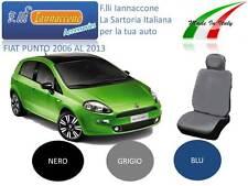 COPRISEDILE FODERE SU MISURA X FIAT GRANDE PUNTO COLORE BLU!!!..