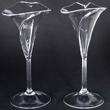 Calla Lily Lilies Toasting Glasses Champagne Flutes