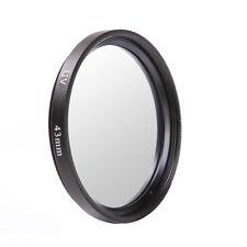43mm Haze UV Filter Lens Protector Ultra-Violet For DSLR Sony Pentax Fuji Camera