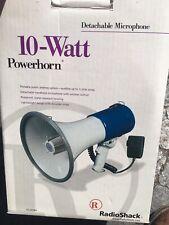 Radio Shack 10 Watt Powerhorn Megaphone Handheld Microphone 32-2038A