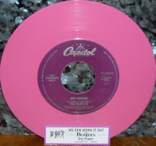 """< Ganga Beatles"""" Day Tripper/We Can Work It Out"""" Nueva Pink Vinilo 45W / Tira"""