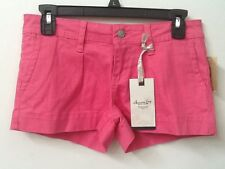 American Rag CIE Hot Pink Juniors Shorts Size 1 NWT New