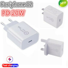 For Apple iPhone 12 /Pro/Max charger 20W Fast Wall Charger USB C Power Adapter