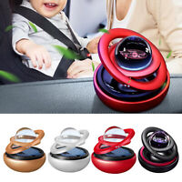 Auto Solar Powered Magnetic Spinning Schwimm Globus Ornament Hause Büro
