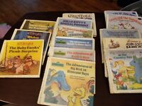 COLLECTIBLE LOT 14  OF 1980S CHILDREN 5X5  BOOKS VINTAGE  X- LIBRARY