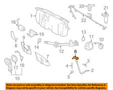 FORD OEM Fuel System-Support Strap Lock Nut W710823S441