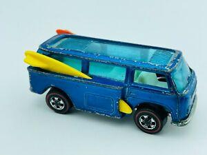 Hot Wheels Redline VOLKSWAGEN BEACH BOMB Blue White Int HK F/G Solid Car !!