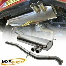 Mazda MX5 Mk4 RF ND MX5Parts Stainless Steel Performance Sports Exhaust System