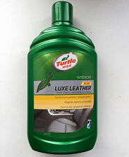 Turtle Wax leather cleaner and conditioner Car Auto Protects & Restores