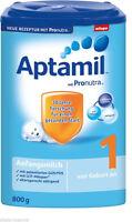 Milupa Aptamil 1 Anfangsmilch mit Pronutra 1 Jahr Haltbar ab Kaufdatum 1x 800g