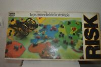 JEU RISK EDITION PARKER VINTAGE 1976  JEU MONDIAL DE STRATEGIE   GAME BOARD