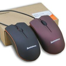 Lenovo M20 Mini Business Portable USB Wired Optical Mouse For PC Laptop Computer