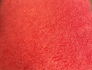 LOFT by Loftex Spa Bath Large Resort Towel, 100% Cotton 35 in x 70 in Peach Red