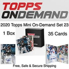 1 Sealed Pack/Box 2020 Topps Mini On Demand Set 23 Lewis/Robert RC/Trout/Auto?