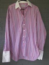 TURNBULL & ASSER DRESS SHIRT SIZE 16 1/2 - 42 CM  MADE IN ENGLAND