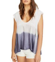 Free People Womens Knit Top Lilac Purple Size Small S Paradise Ombre $58 306