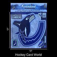 "(HCW) Vancouver Canucks 12"" Fathead Jumbo Multi-Use Coloured Decal Sticker"