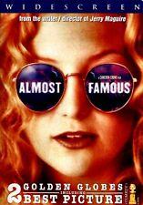 NEW DVD - ALMOST FAMOUS - Frances McDormand, Kate Hudson, Jason Lee, Philip Seym