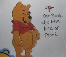 P is For Pooh 34003 Counted Cross Stitch Kit Leisure Arts Disney Winne The Pooh