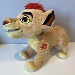Disney The Lion Guard Leap & Roar Kion Toy Lion Cub King Play Plush FAULTY