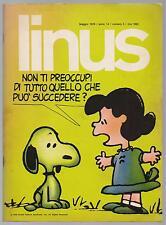 LINUS 5 anno XIV 1978 peanuts b.c. altan velentina crepax beetle bailey mordillo