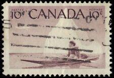 CANADA 351 - Inuit Hunter in Kayak (pf57466)