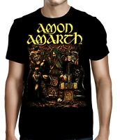 AMON AMARTH cd lgo THOR ODIN ODEN'S SON Official SHIRT MED new
