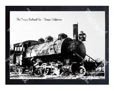 Historic The Tecopa Railroad Co. - Tecopa, California Train Postcard