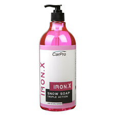 CarPro Iron X Snow Soap - 1 Litre, Valeting, Detailing, Wash, IronX, Foam