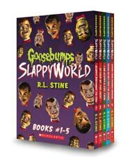 Goosebumps Slappy World BOXED SET Paperbacks 1-5 in Slipcase by RL Stine