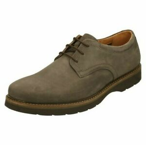 Clarks Mens Lace Up Casual Shoes - Bayhill Plain