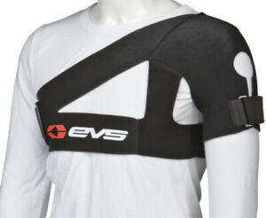 EVS SB02 Sports Shoulder Support Brace Large ATV MX 663-SB02 SB02BK-L 72-3134